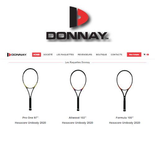 DONNAY TENNIS France<br><small>Rivenditore Ufficiale Donnay in Francia</small>